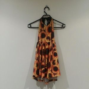 Dresses - Everland Clothing Sunflower Skater Dress
